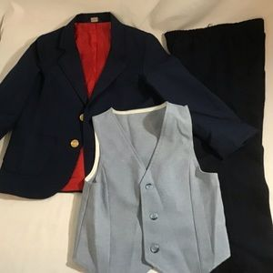 3 for $30 Boys 3 Piece Suit Navy
